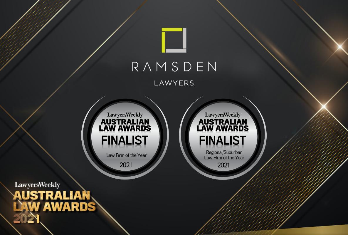 Lawyers Weekly Australian Law Awards 2021