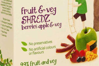 Heinz Shredz fruit and veg snack